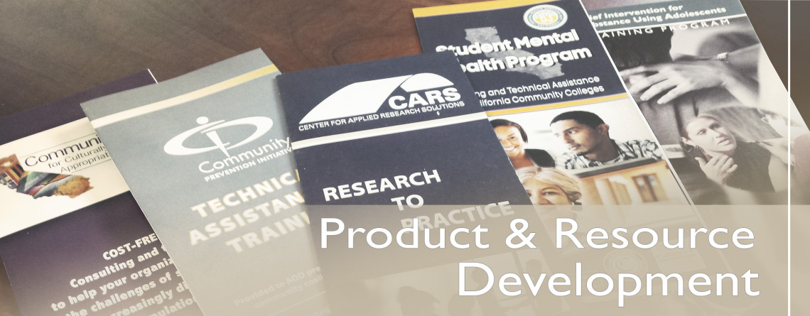 Product & Resource Development