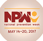 "May 14-20 is National Prevention Week: ""Making Each Day Count"""